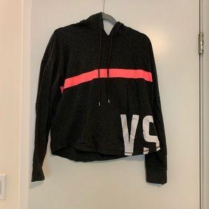 VS charcoal grey crew neck hoodie